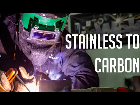 Don't Make This Mistake Welding Stainless To Carbon Steel