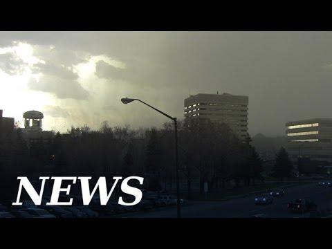 Watch as hail, rain and thunder roll into Sudbury April 27