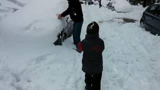 19 February 2015 Istanbul Snow - 19 Şubat 2015 İstanbul Kar Yağışı