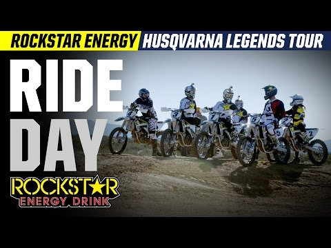 Rockstar Energy Husqvarna Legends Tour - Ride Day