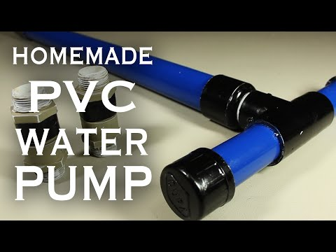 How To Make A PVC Pump!