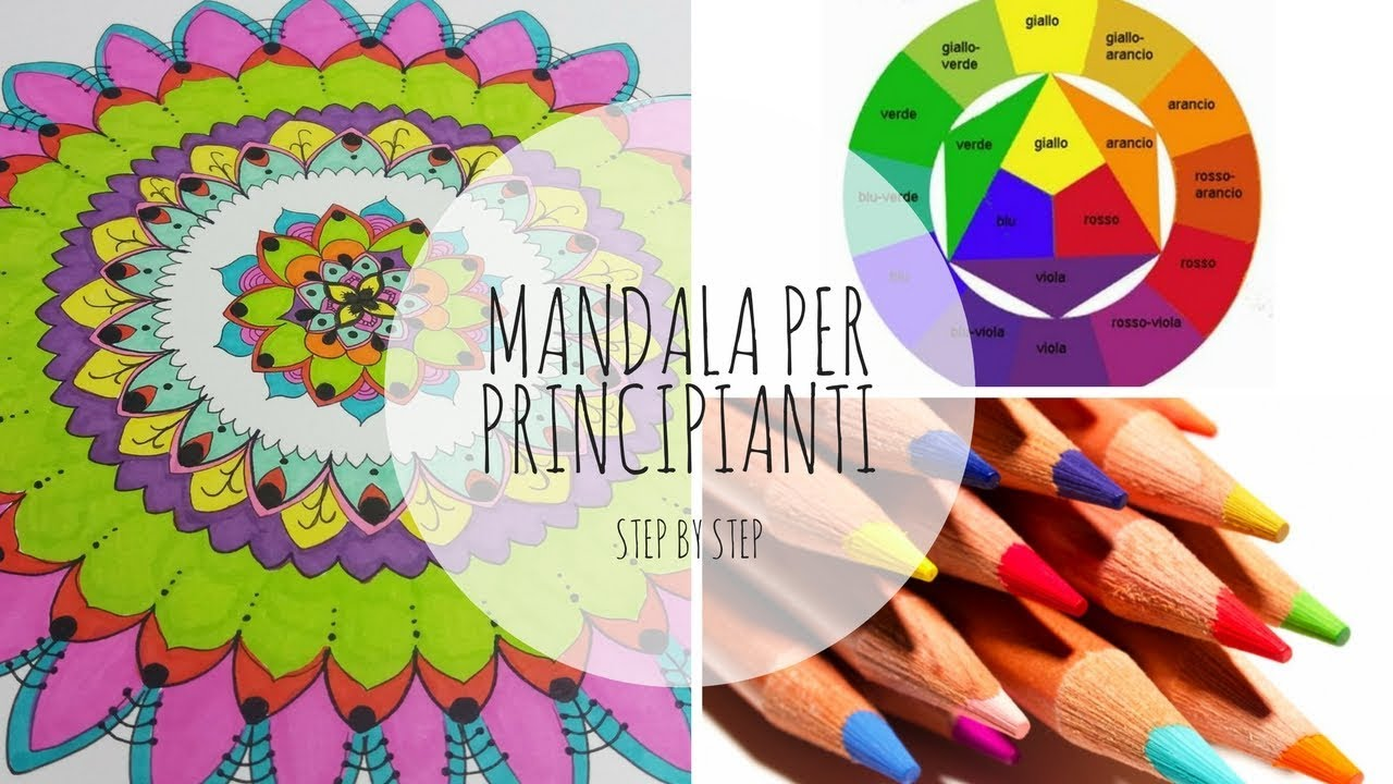 Come Colorare Un Mandala Per Principianti Youtube