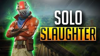 29+ Solo Wins | Season 3 Solo Slaughter | Grinding for New Astronaut Skin! - Fortnite Battle Royale