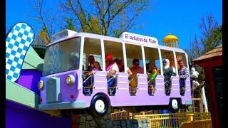 WHEELS ON THE BUS Song- Kids Nursery Rhymes