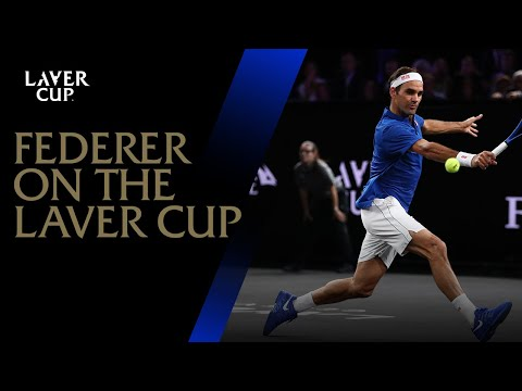 Roger Federer talks about the Laver Cup at AO2018