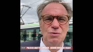 Policier abattu à Avignon : Renaud Muselier réagit