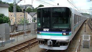 埼玉高速鉄道2000系2101F各停日吉行き 目黒線多摩川駅入線