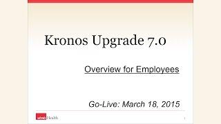 Kronos Employee Training