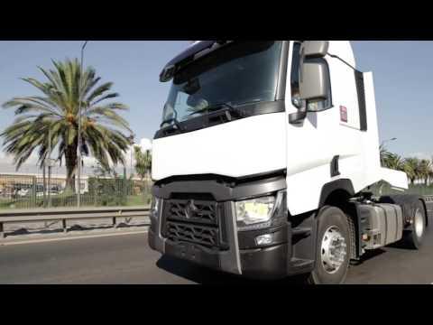 Llegada de la gama Renault Trucks T a Chile