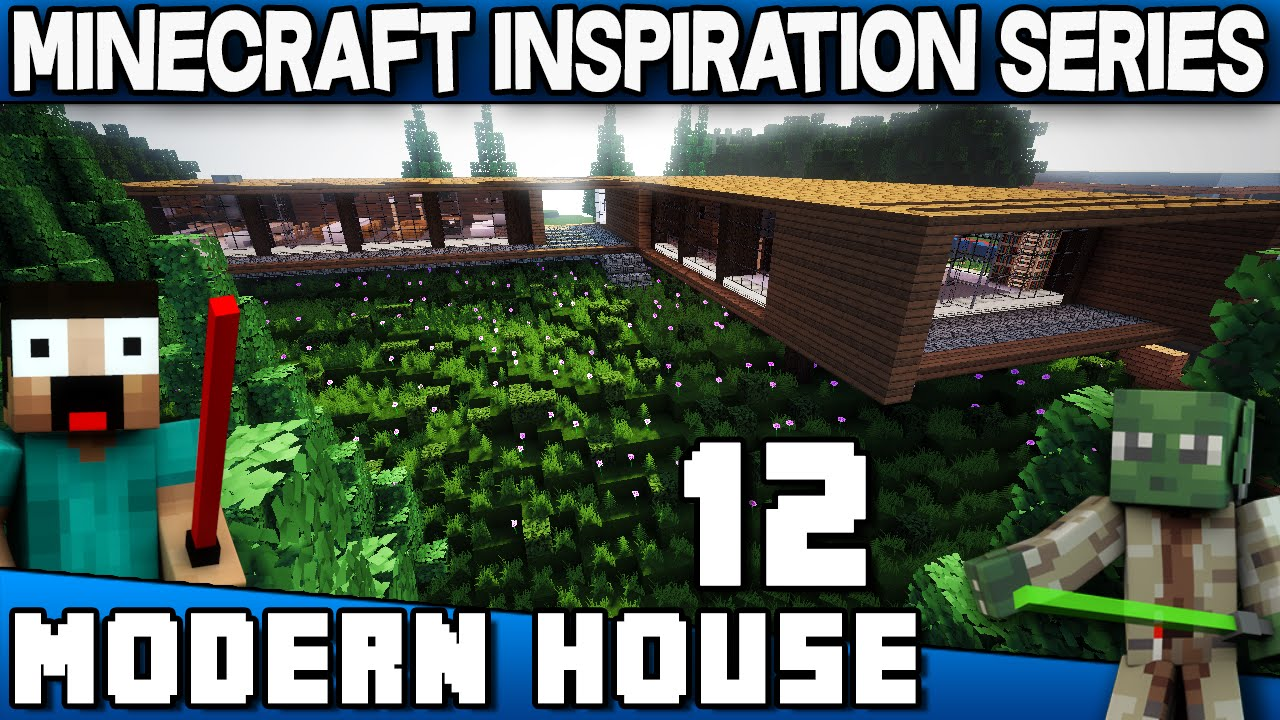 Minecraft Modern House 12 Keralis Inspiration Series YouTube