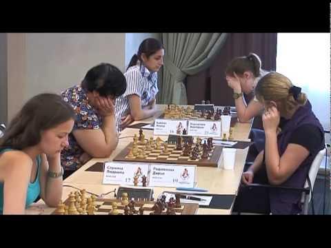 Чемпионат России по шахматам 2013. Высшая лига. 8-й тур.