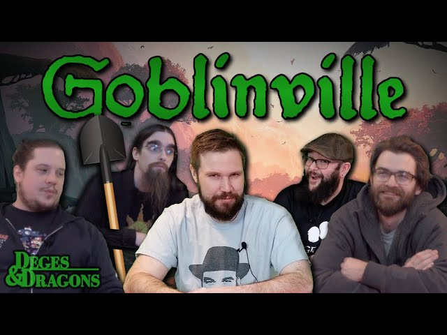 Goblinville - [1/6] - Intro & Character Creation