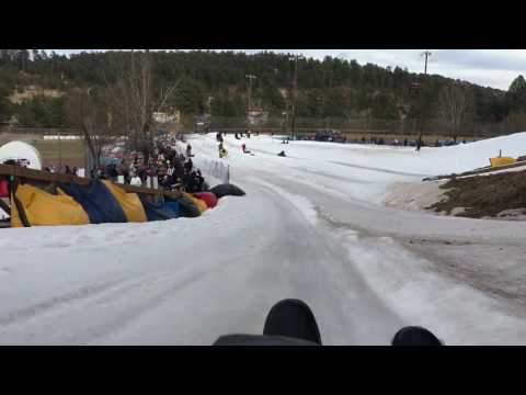 Tubing in Ruidoso, New Mexico