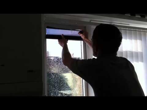 Как наклеивается зеркальная солнцезащитная пленка на окна