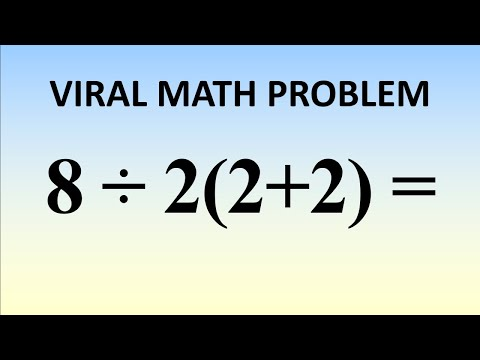 What Is 8÷2(2+2) = ? The Correct Answer Explained