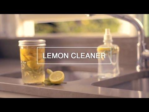 Lemon Cleaner - DIY - How to Make