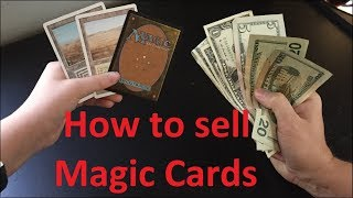 How to SELL your Magic Cards!