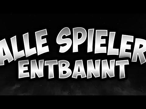 Видео Entbannt Rewinsidetv - Minecraft spieler entbannen