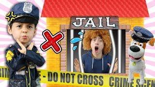 아이스크림 도둑이 나타났어요. 경찰아저씨 도와주세요! POLICE KID Pretend Play and Mashu go to Jail toy 마슈토이 Mashu ToysReview