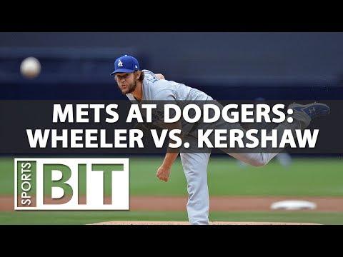 New York Mets at Los Angeles Dodgers | Sports BIT | MLB Picks