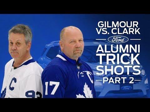 Doug Gilmour vs Wendel Clark: Ford Trick Shots Challenge - Ep 2