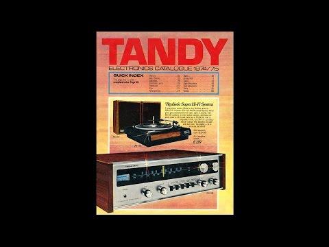 1974-75 Tandy Electronics Catalogue (UK)