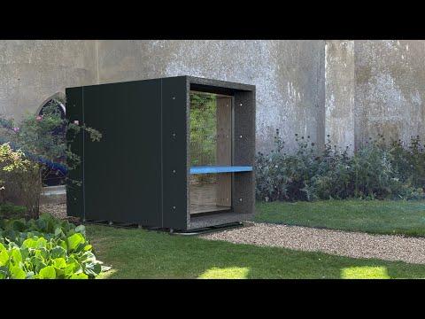 Garden Office Built in a Single Day