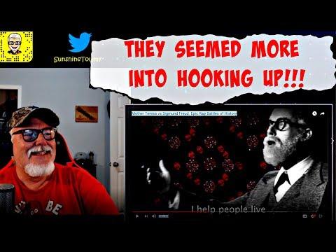 Gramps Reacts to Mother Teresa vs Sigmund Freud. Epic Rap Battles of History