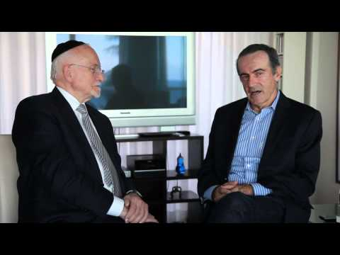 Andres Oppenheimer  and Rabbi Brener English interview