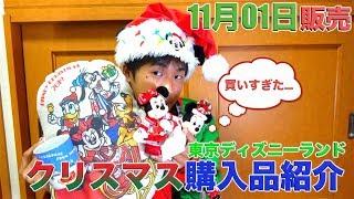 【今年はレトロなデザイン!】東京ディズニーランドのクリスマスグッズの購入品紹介 2019