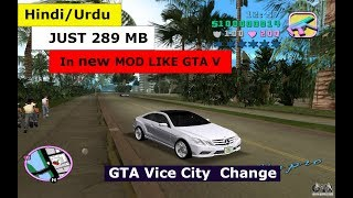 How to download Gta Vice City in |new mod| like GTA V for PC