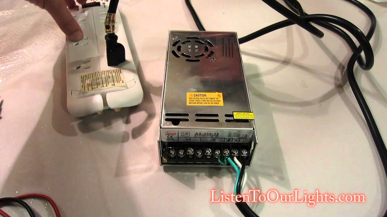 Wiring up a Power Supply (PSU)  YouTube