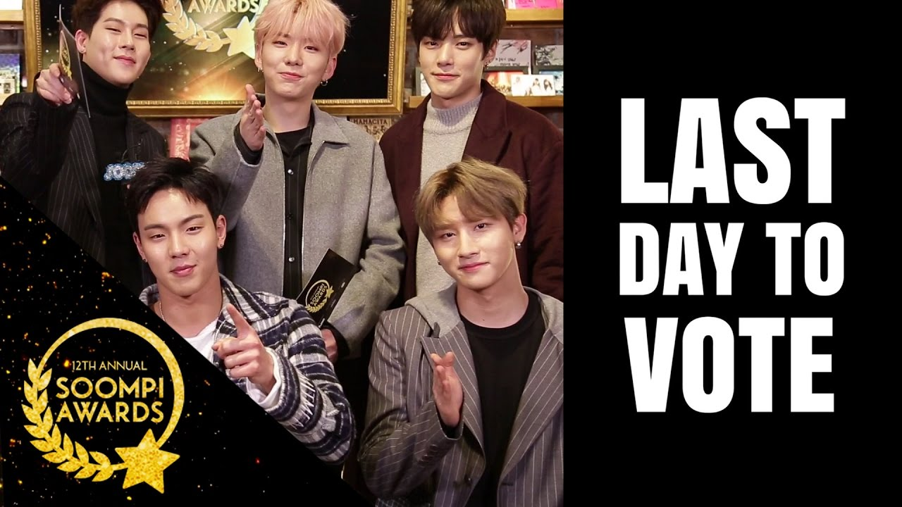 MONSTA X: LAST DAY to Vote in Soompi Awards!