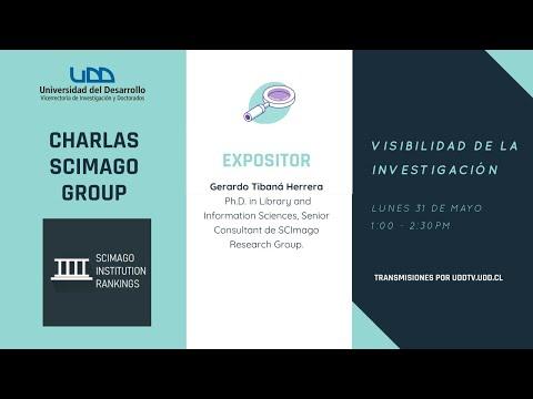 Charlas Scimago Group | Visibilidad de la Investigación