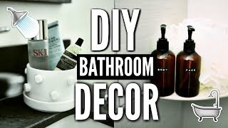 DIY BATHROOM DECOR! How To Decorate For Cheap!