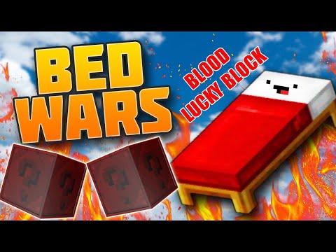 MINI GAME : BLOOD LUCKY BLOCK BEDWARS ** THỬ THÁCH CHIẾN THẮNG PIXEL VỚI ĐỒ VIP TRONG BEDWARS