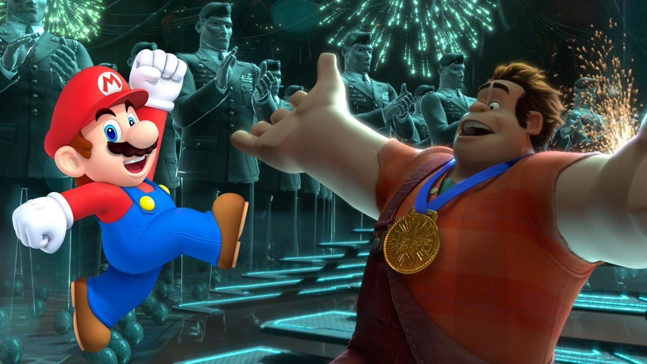 Mario To Appear In WreckIt Ralph Sequel  YouTube