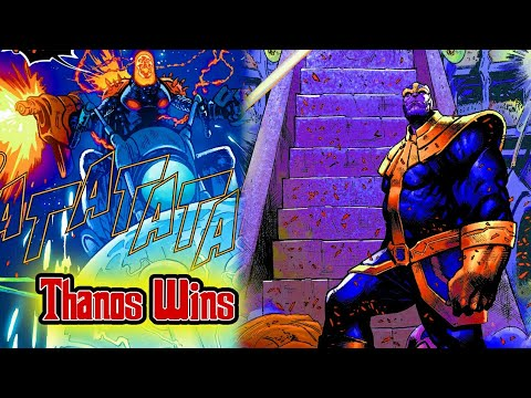 Thanos Wins (Marvel) Comics Explained In Tamil (தமிழ்) Part 1