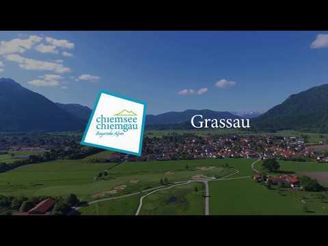 Grassau im Chiemgau aus der Luft
