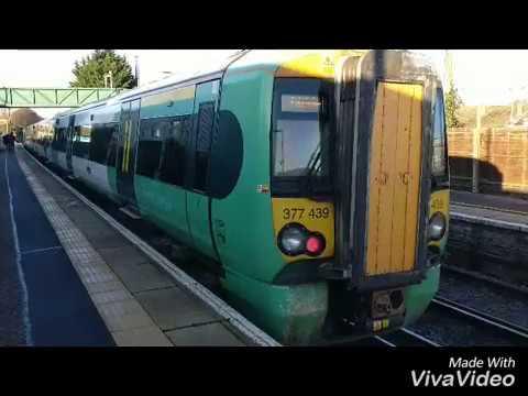 Southern trains - ANGMERING STATION