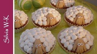 Osterlämmchen / Schäfchen / Muffins / Ostergebäck