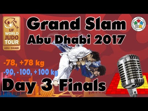 Judo Grand-Slam Abu Dhabi 2017: Day 3 - Final Block