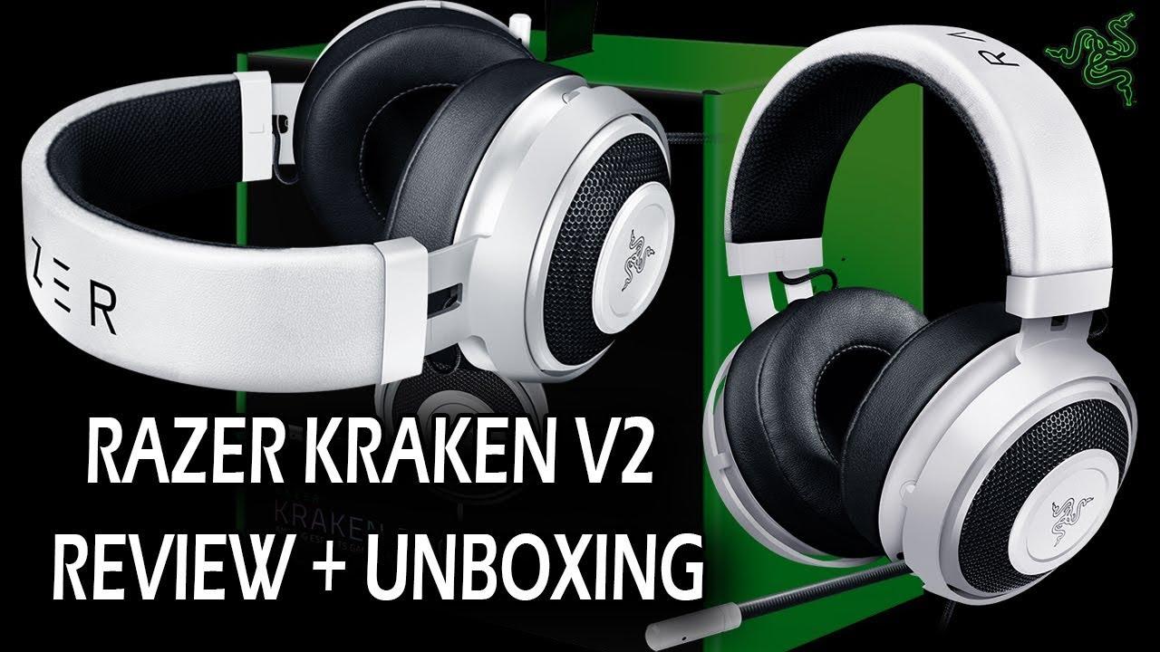Razer Kraken Pro V2 Review Unboxing Youtube