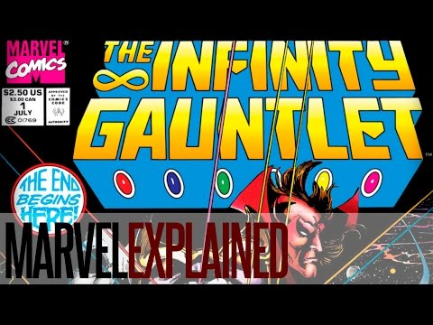 The Infinity Gauntlet - 1 of 8 - God