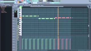 FL Studio Tutorial - Exercise 1 -  Making a Simple Rhythm and Bassline
