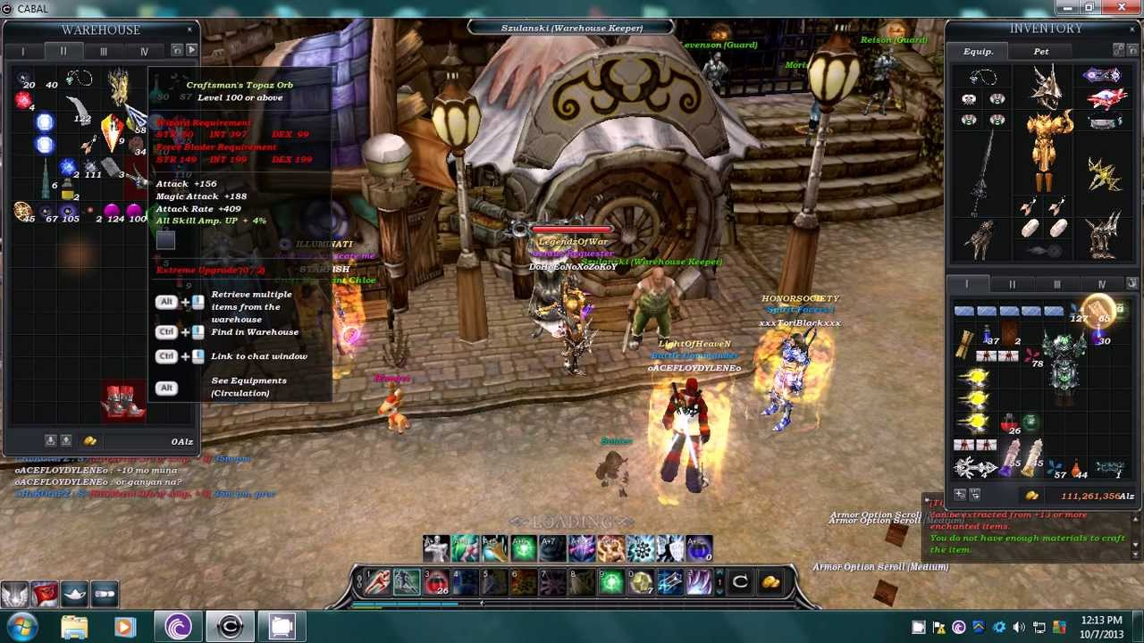 Dhenxzky Cabal Ph Crafting Perfect Core Low Youtube
