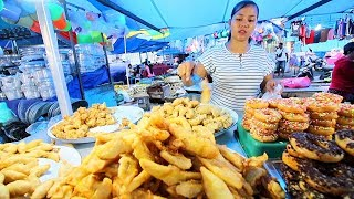 Indonesian Street Food - CRAZY BALI NIGHT MARKET | BEST Street Food in Bali + BABI GULING Indonesia