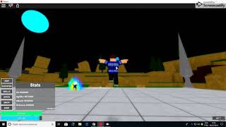 Como upar rapido no Dragon Ball Mastered no Roblox