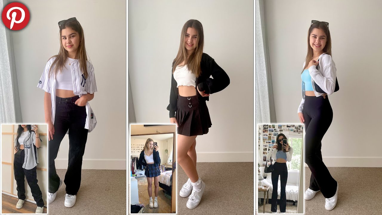 Recreating Pinterest Outfits   Grace's Room