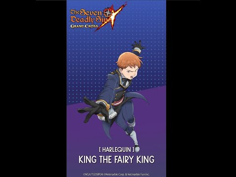 [7DS] Harlequin King the Fairy King Combined Attack